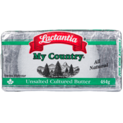 Lactantia - My Country - Unsalted Cultured Butter