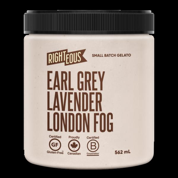 Earl Grey Lavender London Fog Gelato