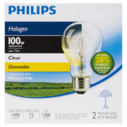 Philips EcoVantage 100W - Clear