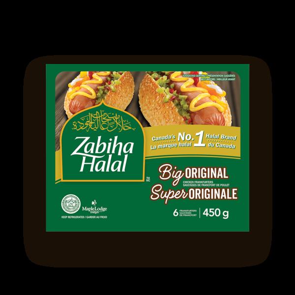 Zabiha Halal Big Original Chicken Frankenfurters