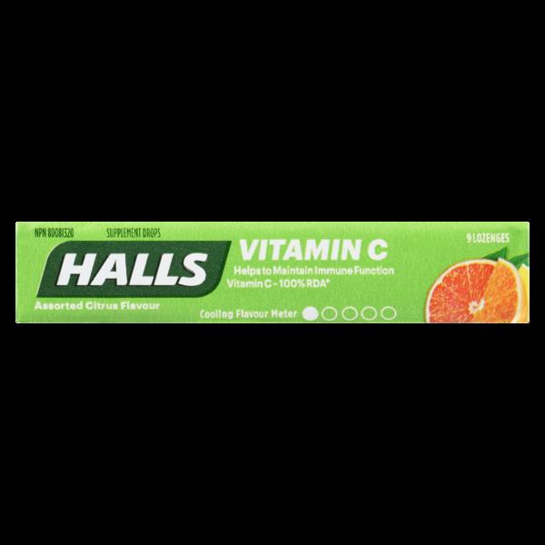 Halls - Defence Vitamin C Citrus