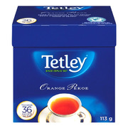 Tetley - Tea Bags - Orange Pekoe - 36 Pack