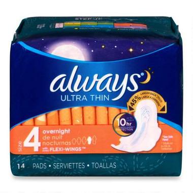 Always - Maxi Pads Ultra Overnight