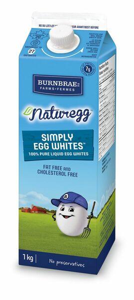 Burnbrae Farms Naturegg Simply Egg Whites