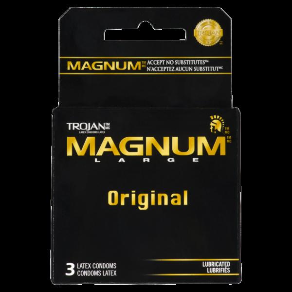 Trojan - Condoms Magnum