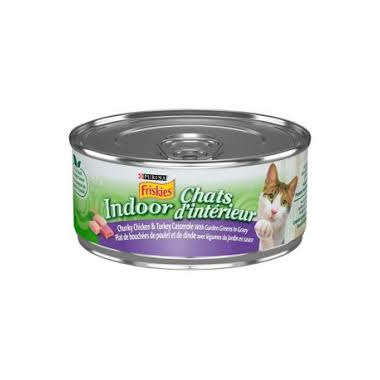 Friskies - Indoor Chunky Chic Turkey Cas