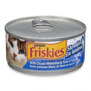 Friskies - Shredded Ocean White Fish & Tuna