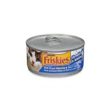Friskies - Shredded Ocean White Fish & Tuna