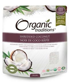 Organic Traditions - Shredded Coconut