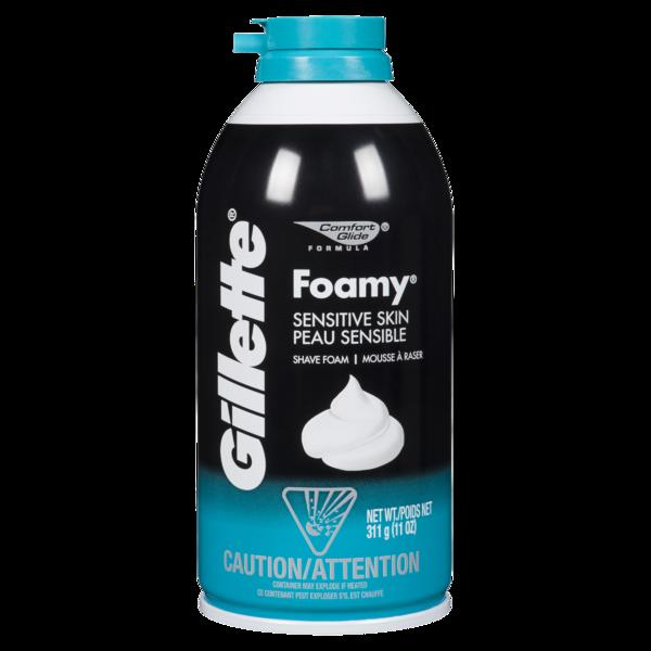 Gillette Foamy Sensitive Skin