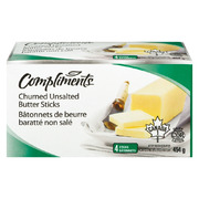 Compliments - Unsalted Butter Sticks