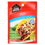 Club House - Taco Seas Mix 25% Less Salt Gluten Free