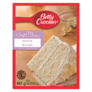 Betty Crocker - Super Moist Cake Mix - White