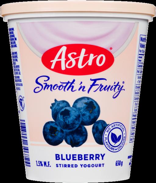 Astro Smooth 'n Fruity Stirred Yogurt Blueberry