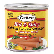 Grace - Chicken Vienna Sausages in Chicken Broth