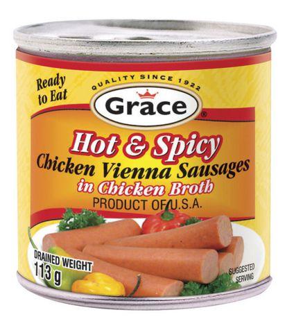 Grace - Chicken Vienna Sausages in Chicken Broth