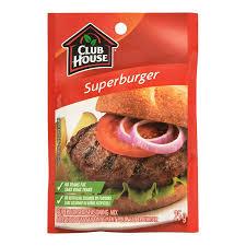 Club House - Super Burger Seasoning