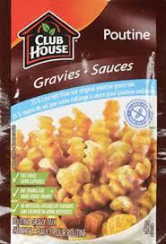 Club House - Poutine Gravy Mix 25% Less Salt Gluten Free