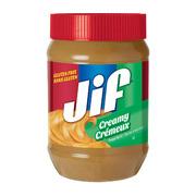 JIF - Peanut Butter - Creamy (Gluten Free)