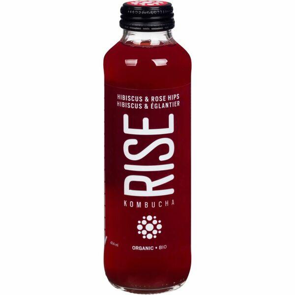 Rise Kombucha - Hibiscus & Rose Hips