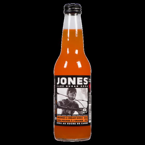 Jones - Cane Sugar Soda - Orange & Cream