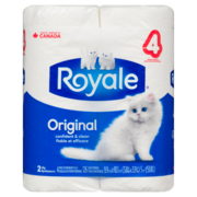 Royale - Bathroom Tissue 4 Rolls