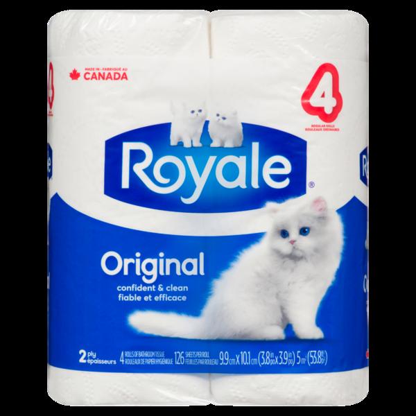 Royale - Bathroom Tissue 4 Rolls
