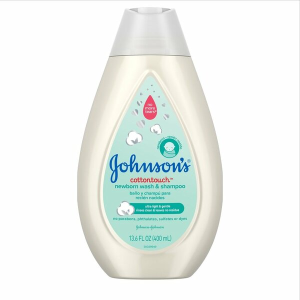 Johnson's Cotton Touch Wash and Shampoo