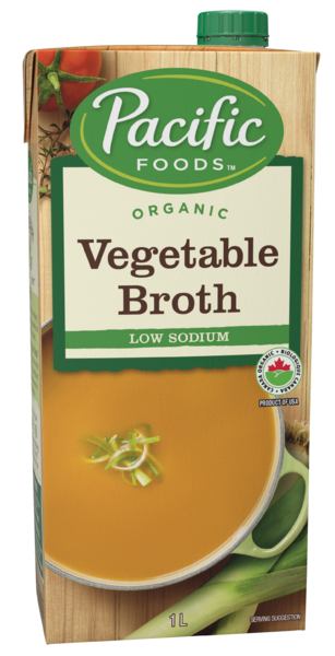 Pacific Foods - Vegetable Broth - Low Sodium - Organic