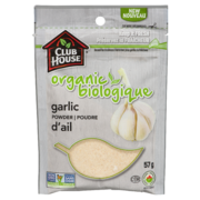 Club House - Organic Ground Garlic Powder Bag