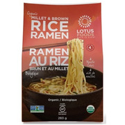 Lotus Foods - Rice Ramen - Millet & Brown - 4 Noodle Cakes