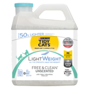 Tidy Cats Free & Clean Lightweight