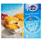 High Liner English Style Fish in Batter