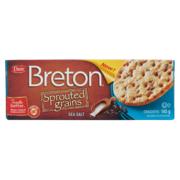 Breton - Sprouted Grains - Crackers - Sea Salt