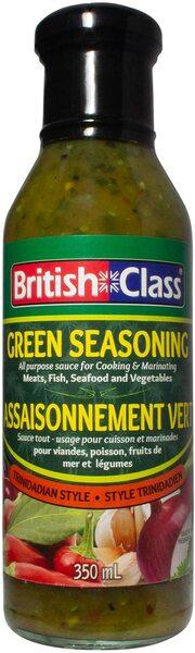 British Class - Green Seasoning