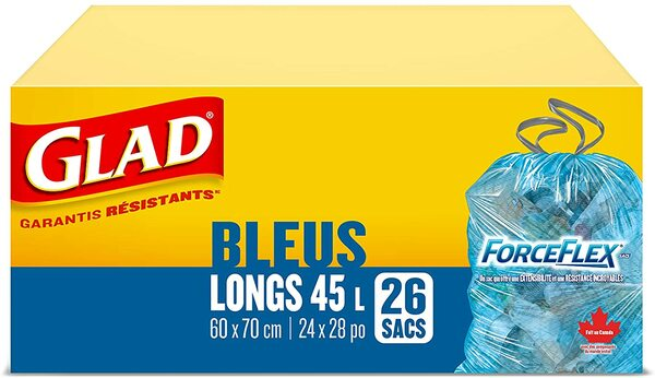Glad Blue Bags - Tall