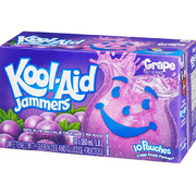 Kool-Aid - Jammers - Grape - 10 Pouches