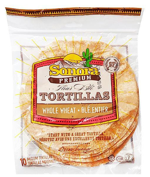 Sonora Premium - Tortillas - Whole Wheat