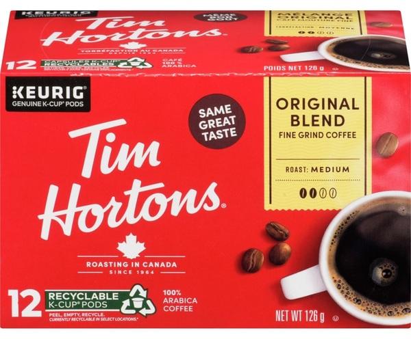 Tim Hortons - Coffee - Original Blend - Fine Grind - Medium