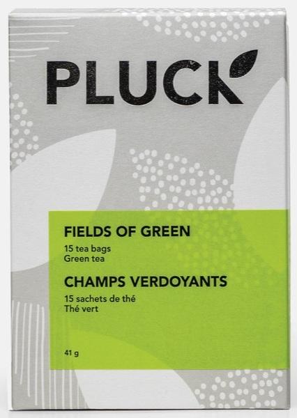 Pluck - Organic Green Tea - Fields of Green - 15 Pack