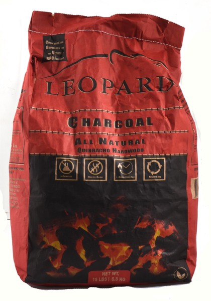 Leopard - Charcoal - All Natural