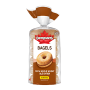 Dempster's - Whole Wheat Bagels