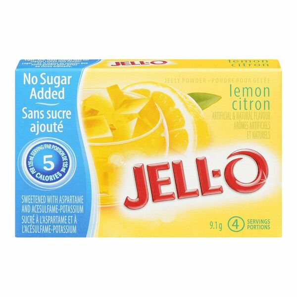 JELL-O - Powder - Lemon