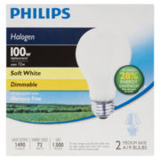 Philips EcoVantage 100W - Soft White
