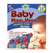 Baby Mum-Mum - Blueberry and Goji Rice Rusks