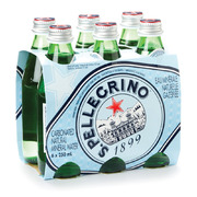 San Pellegrino - Carbonated Natural Mineral Water - 6 Pack