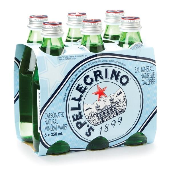 San Pellegrino - Carbonated Natural Mineral Water - 6 Pack