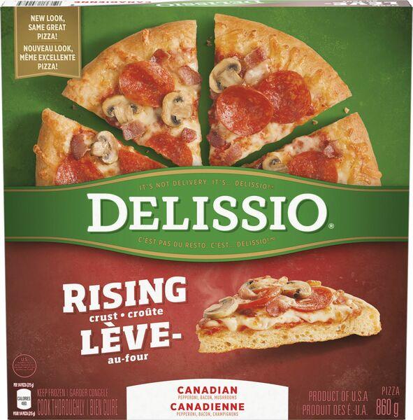 Delissio - Canadian Pizza - Rising Crust