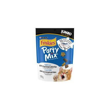 Friskies Party Mix Crunch Ocean Shrimp Crab Tuna