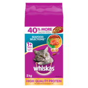 Whiskas Dry - Seafood Selection